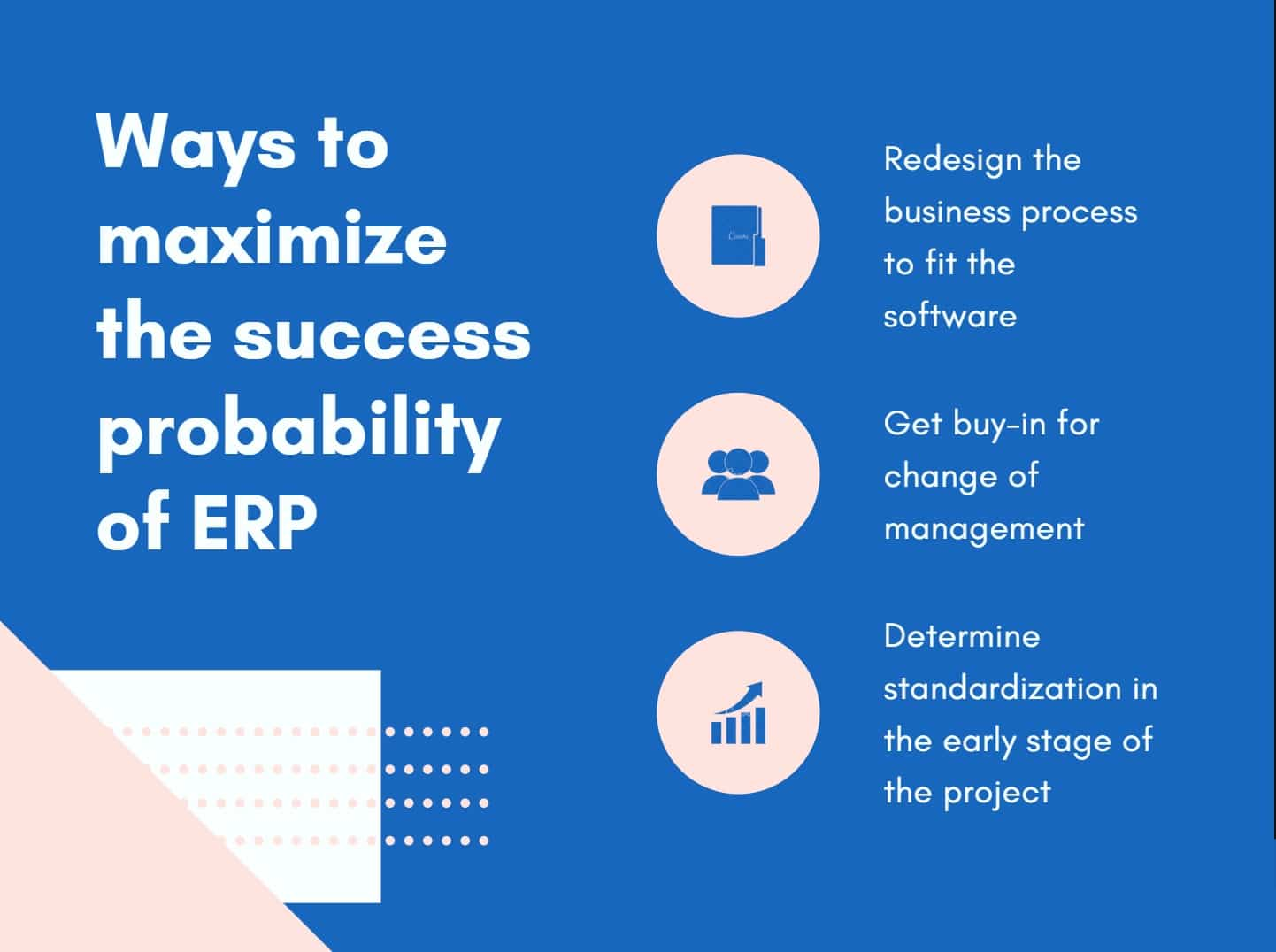 ways to maximize the success probability of ERP implementation